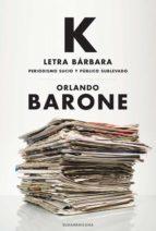 K letra bárbara (ebook)