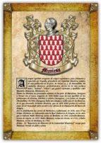 Apellido Muniesa / Origen, Historia y Heráldica de los linajes y apellidos españoles e hispanoamericanos