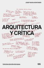 Arquitectura y crítica (ebook)