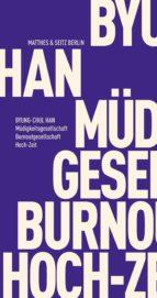 Müdigkeitsgesellschaft Burnoutgesellschaft Hoch-Zeit (ebook)