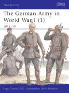 The German Army in World War I (1) (ebook)