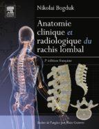 Anatomie clinique et radiologique du rachis lombal (ebook)