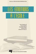 Les émotions à l'école (ebook)
