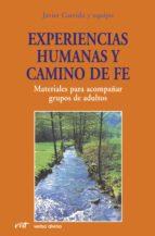 Experiencias humanas y camino de fe (ebook)