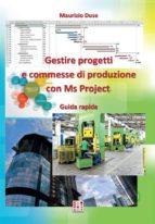 Gestire progetti e commesse di produzione con Ms Project (ebook)