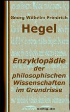 Enzyklopädie der philosophischen Wissenschaften im Grundrisse (ebook)
