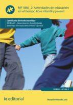Actividades de educación en el tiempo libre infantil y juvenil. SSCB0209 (ebook)