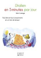 Petit Livre de - Italien en 5 minutes par jour (ebook)