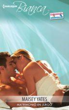 Matrimonio en juego (ebook)