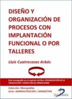 Diseño y organización de procesos con implantación funcional o por talleres (ebook)