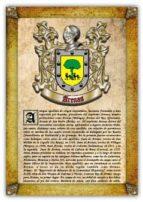 Apellido Arenas / Origen, Historia y Heráldica de los linajes y apellidos españoles e hispanoamericanos