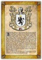 Apellido Oto / Origen, Historia y Heráldica de los linajes y apellidos españoles e hispanoamericanos