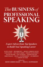 The Business of Professional Speaking (ebook)