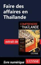 Faire des affaires en Thaïlande (ebook)