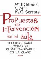 Propuestas de intervención en el aula (ebook)