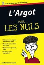 L'Argot Poche Pour les Nuls (ebook)