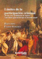 Límites de participación criminal ¿Existe una prohibición de regreso como límite general del tipo en derecho penal? (ebook)