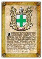 Apellido Casielles / Origen, Historia y Heráldica de los linajes y apellidos españoles e hispanoamericanos