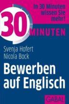 30 Minuten Bewerben auf Englisch (ebook)