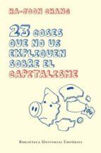 23 coses que no us expliquen sobre el capitalisme (ebook)