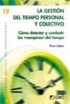 La gestión del tiempo personal y colectivo (ebook)