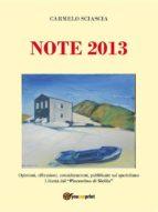 Note 2013 (ebook)
