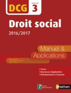 DCG 3 : Droit social 2016/2017 (ebook)