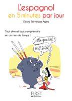 Petit Livre de - L'espagnol en 5 minutes par jour (ebook)