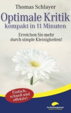 Optimale Kritik - kompakt in 11 Minuten (ebook)