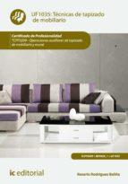 Técnicas de tapizado de mobiliario. TCPF0209 (ebook)