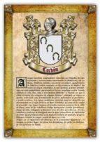 Apellido Cordón / Origen, Historia y Heráldica de los linajes y apellidos españoles e hispanoamericanos