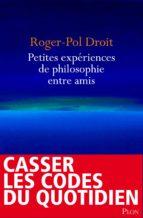 Petites expériences de philosophie entre amis (ebook)