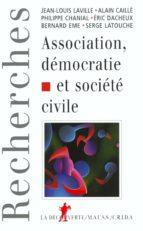 Association, démocratie et société civile (ebook)