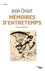 Mémoires d'entretemps (ebook)