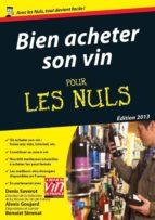 Bien acheter son vin Pour les Nuls (ebook)