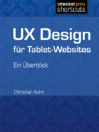 UX Design für Tablet-Websites (ebook)