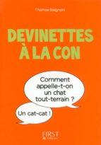 Petit Livre de - Devinettes à la con (ebook)
