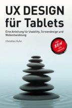 UX Design für Tablets (ebook)