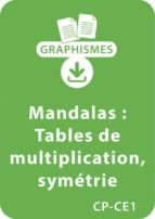 Mandalas d'apprentissage CP/CE1 - Tables de multiplication / Symétrie (ebook)