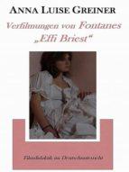 """Verfilmungen von Fontanes """"Effi Briest"""" (ebook)"""