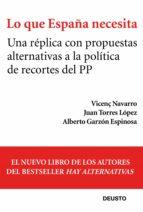 Lo que España necesita (ebook)