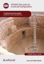 Ejecución de muros de mampostería. EOCB0108 (ebook)