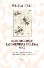 Memoria sobre las hormigas inglesas (1747) (ebook)
