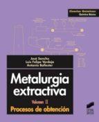 Metalurgia extractiva (ebook)
