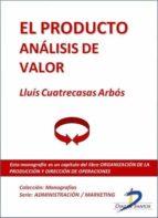 El producto. Análisis de valor (ebook)