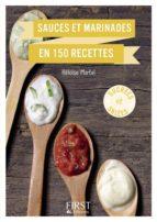 Petit Livre - Sauces et marinades en 150 recettes (ebook)
