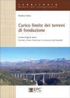 Carico limite dei terreni di fondazione (ebook)
