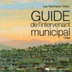 Guide de l'intervenant municipal 1988 (ebook)