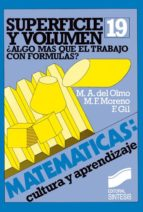 Superficie y volumen (ebook)