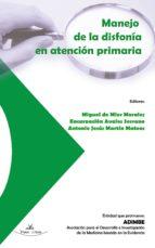 MANEJO DE LA DISFONÍA EN ATENCIÓN PRIMARIA (ebook)
